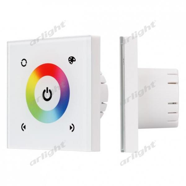 Панель Sens LN-08E White (RGB,12-24V,144-288W)