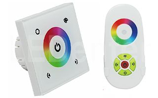 Панель Sens LN-082-RGB White (RF,12-24V, 144-288W)