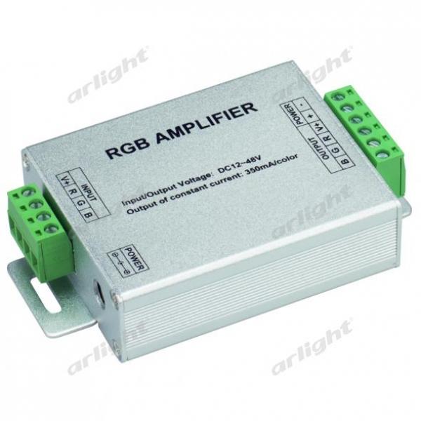 RGB-усилитель LN-350 (12-48V, 3x350mA, 50W)