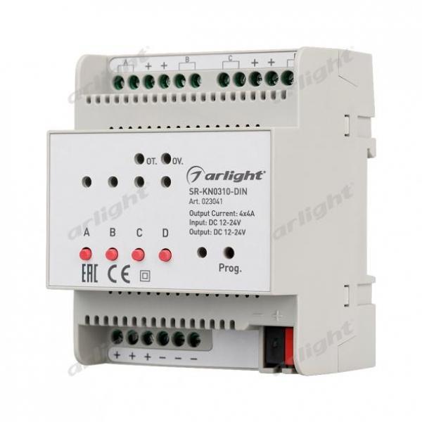 Диммер SR-KN0310-DIN (12-36V, 4x4A)