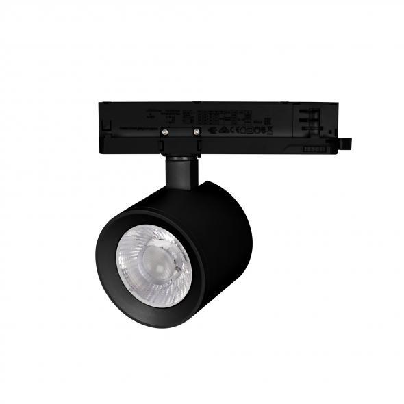 Светильник LGD-NIKA-4TR-R100-20W Warm3000 (BK, 24 deg, 230V)