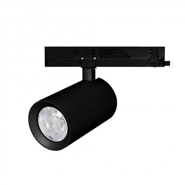 Светильник LGD-NIKA-4TR-R100-40W Warm3000 (BK, 24 deg, 230V)