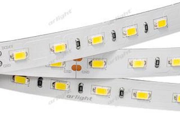 Лента RT 2-5000 24V Warm 3000K 2xH (5630, 300 LED, LUX)