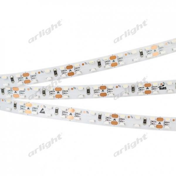 Лента RS 2-5000 24V Warm3000 2x2 8mm (3014, 240 LED/m, LUX)