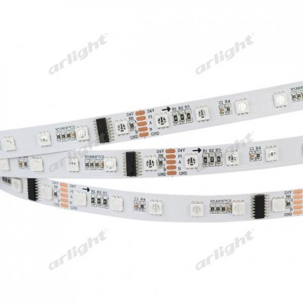 Лента DMX-5000 24V RGB (5060, 300 LEDx6)