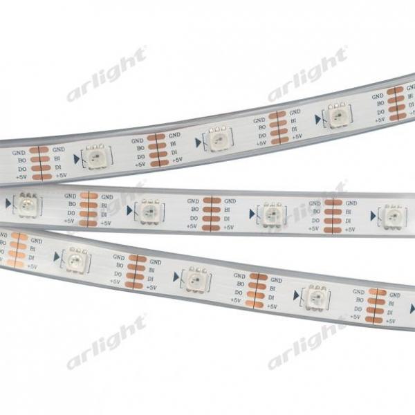 Лента SPI-5000P-RAM 5V RGB (5060, 150 LED x1, 2813)