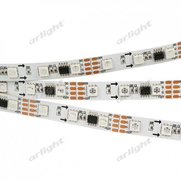 Лента SPI-5000-AM 12V RGB (5060, 300 LED x3,1804)