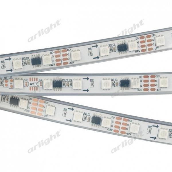 Лента SPI-5000P-AM 12V RGB (5060, 300 LED x3,1804)