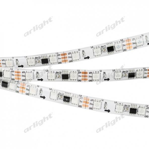 Лента SPI 2-5000SE 12V RGB 2x (5060, 300 LED x3)