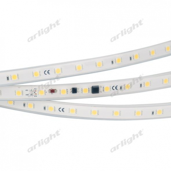 Лента ARL-10000PGS-220V White 6000K 13mm (5060, 54 LED/m, M-F Link)
