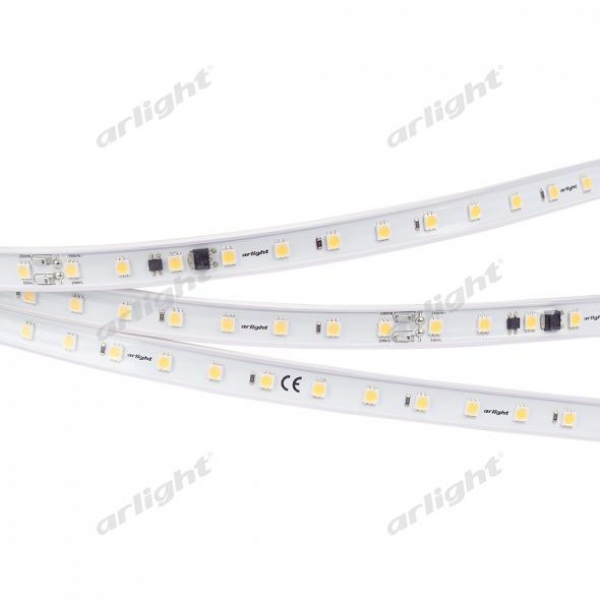 Лента ARL-50000PC-220V Warm3000 (5060, 54 LED/m, IP65)