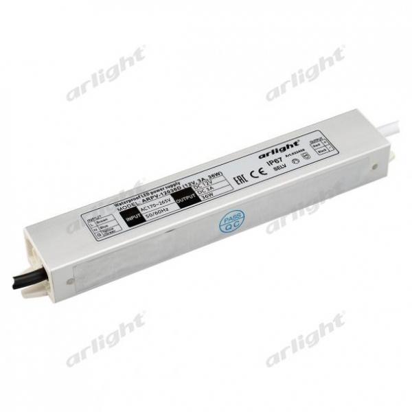 Блок питания ARPV-12036-D (12V, 3.0A, 36W)