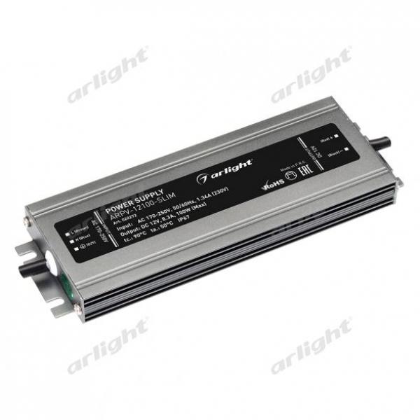 Блок питания ARPV-12100-SLIM (12V, 8.3A, 100W)