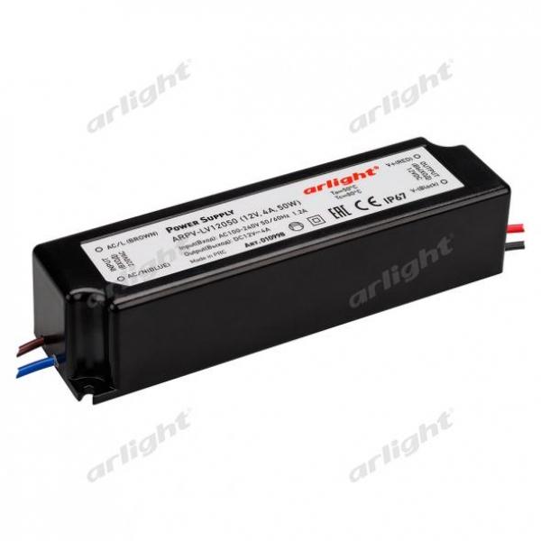 Блок питания ARPV-LV12050 (12V, 4.0A, 48W)