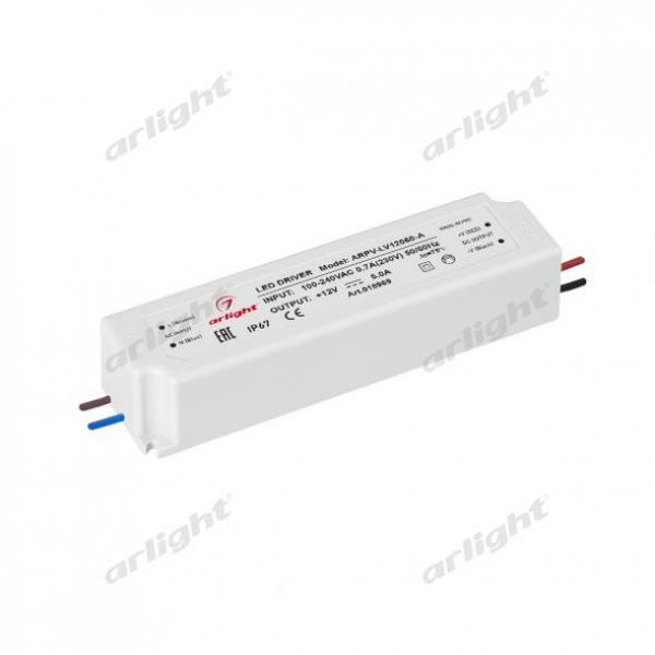 Блок питания ARPV-LV12060-A (12V, 5.0A, 60W)